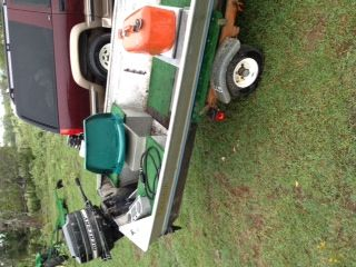 15 ft rhyan craft flat bottom with title price negotiable  - $1000 (Tyler Area )