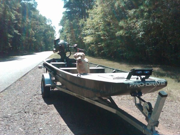 1748 Pro Drive duck boat - $15000 (Hughes Springs, Tx)