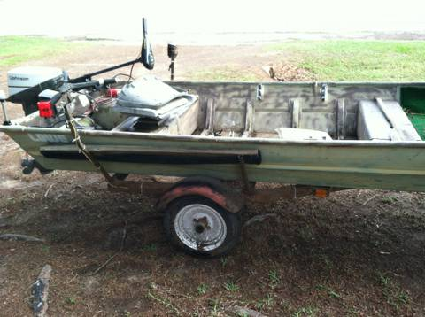 1982 15 LOWE FLAT BOTTOM BOAT - $1500 (Edom, Texas)