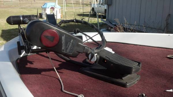 Motorguide 756 Trolling motor Brute force 56 - $200 (tennessee colony)