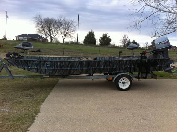 Flat Bottom FishingHunting Boat For Sale - $3995 (Lindale, Tx)