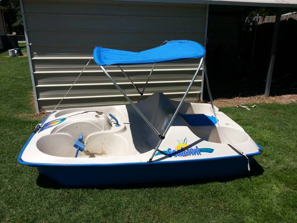 5 personal Paddle Boat - Seahawk 5 - $300 (Chandler, TX)