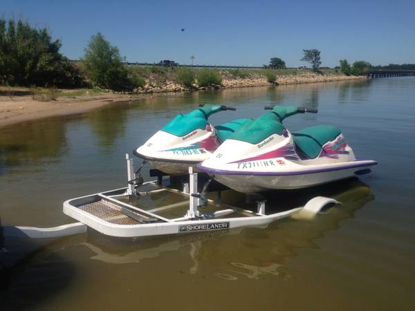 SEADOO s 2 for the Price of 1 DOUBLE TRAILER - $3000 (Mabank, TX, 75147)