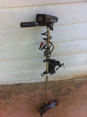 shakespeare sigma 30 trolling motor for sale