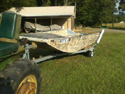 AirboatMotorboat Hull for sale - $1195 (Minden, Texas)