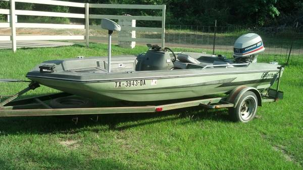 Eldocraft bass boat for sale for Bass boats with evinrude motors