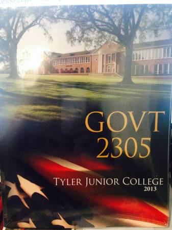 GOVT 2305 Book- New - TJC -   x0024 60  Tyler