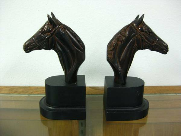 Office bookends - Horse -   x0024 35  Tyler