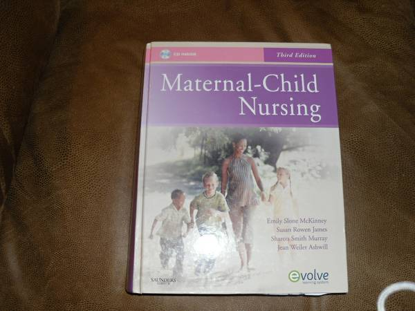 TVCC RN program-Maternal-Child Nursing Book - $40 (Lake Fork, TX)