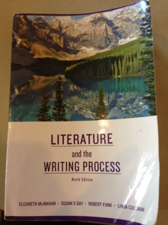 TJC English 1302 Book- Literature and the Writing Process  - $60 (Tyler (Bullard))