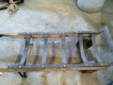 duct jack, barrell dolly, material cart, pipe wrenches - $1 (Longview)