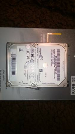 1 TB Hard Drive  never used  Laptop -   x0024 50