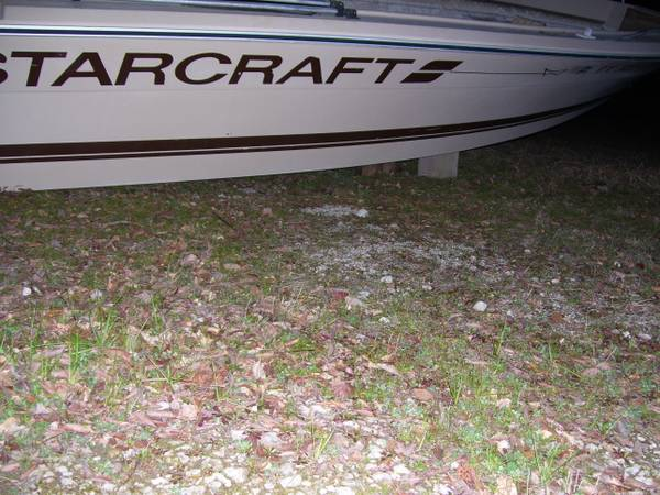 1986 Starcraft 21 foot fiberglass bay boat  longview