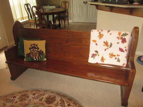 Church PewParsons Bench - $425 (Tyler, TX)