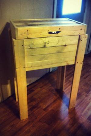 WOOD COOLER handmade Made to order Cheapest on CL - $100 (75482)