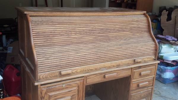 Roll Top Desk - $350