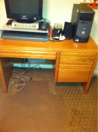 Desk, and dressers (Lindale)