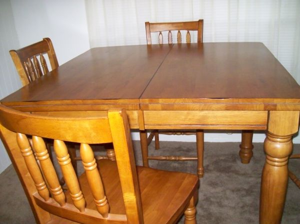 Wood Dinette Set- Counter Height - $400