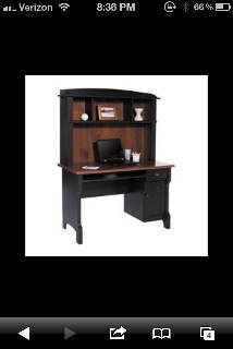 C. Lowell desk and hutch - $150 (Tyler )