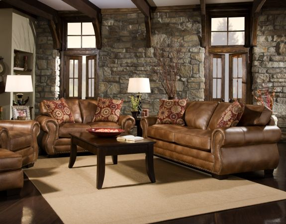 NEW LEATHER NAILHEAD SOFS  LOVESEAT OR SECTIONAL TOP SELLER - $899 (WE DELIVER CALL NOW TO PLACE ORDER)