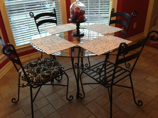 Table and 4 Chairs - $350 (Tyler)