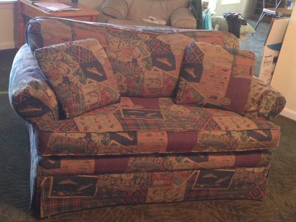 LOVE SEAT TWIN SLEEPER SOFA - $150 (LAKE MURVAUL CARTHAGE)