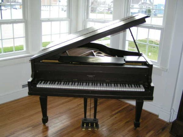 Antique Brambach Baby Grand Piano - $1000 (Arp, TX)