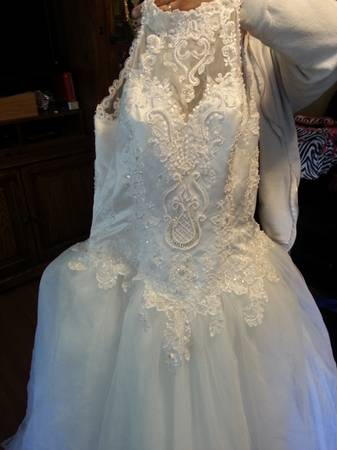 David s bridal wedding dress -   x0024 150  Mount Pleasant