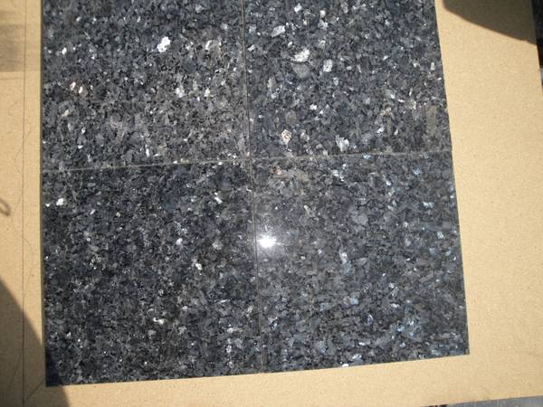 Nine  9  3 8   Blue Pearl Granite Tile -   x0024 25  Winnsboro  TX