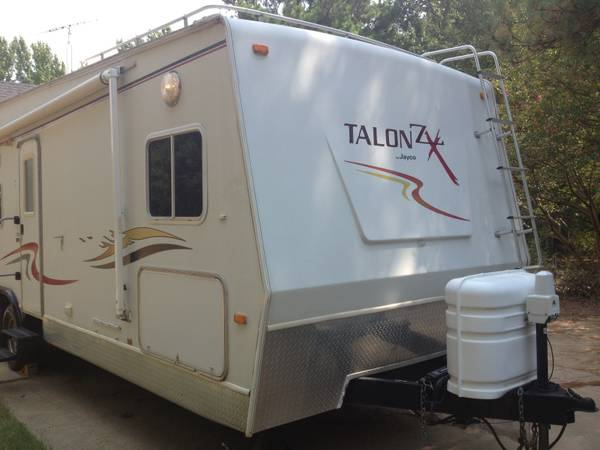 2005 Jayco Talon ZX 28A Toy Hauler Travel Trailer - $14000 (Lindale)