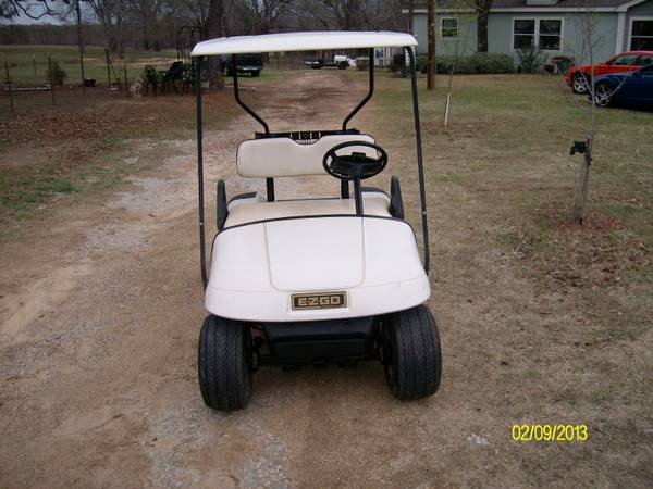 Golf Cart .... EZ GO  SEAT KIT OPTION - $1750 (Athens,Tx)