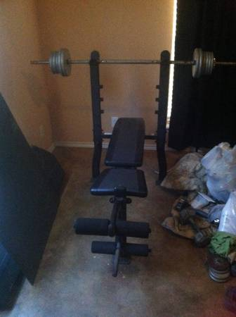Exertec Fitness weight bench (Jacksonville, tx )