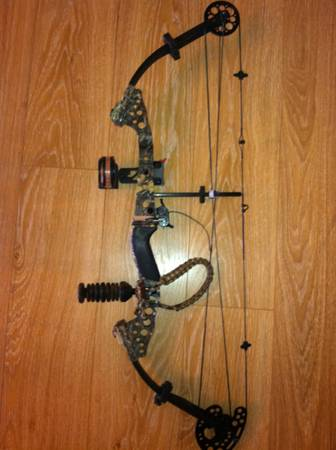 Diamond (by bowtech) hunting bow - $300