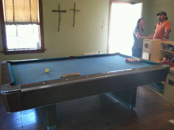 POOL TABLE FOR SALE OR TRADE - $500 (Fairfield)
