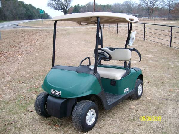 2010 EZGO RXV GOLF CART runs 19 5 mph  -   x0024 2375  Athens Tx