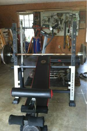 Golds Gym Weight Bench XR5 - $300 (near Athens TX)