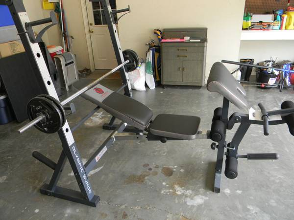 For Sale Marcy Diamond Elite Olympic Surge Weight Bench - $250 (Gilmer,TX)