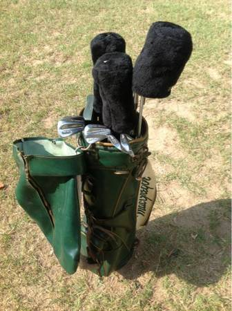 Golf Clubs with bag - $50 (Palestine)