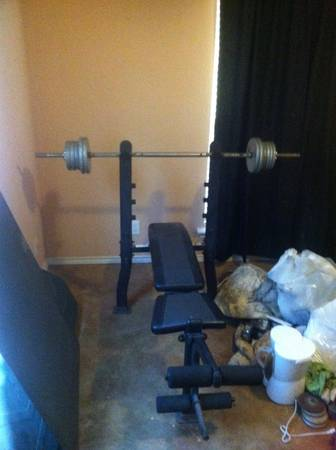 Exertec Fitness Weight bench  - $100 (Jacksonville, TX )