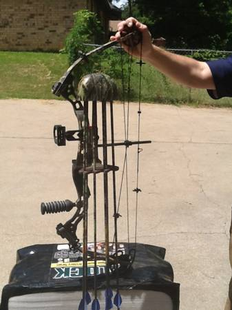 LEFT HANDED 2006 Diamond Triumph Compound Bow - $400 (White Oak)