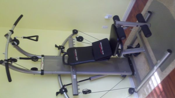 Bioforce home gym espotted