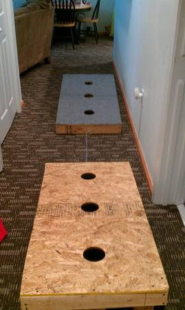 Wood Washer Boards (3 hole) - $75 (Tyler, Tx)