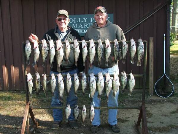 Awesome Crappie Bass Fishing - Toledo Bend (Milam, TX)