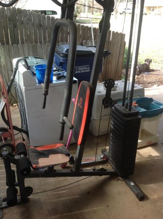 Marcy universal workout gym - $100 (Gladewater Texas )