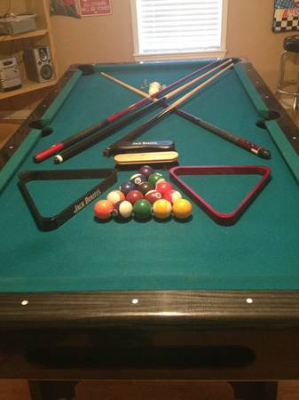 Tournament Choice Pool Table with accessories - $425 (Palestine, tx)