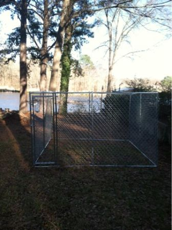 New 10x10 Dog Kennel - $200 (Flint, Tx)