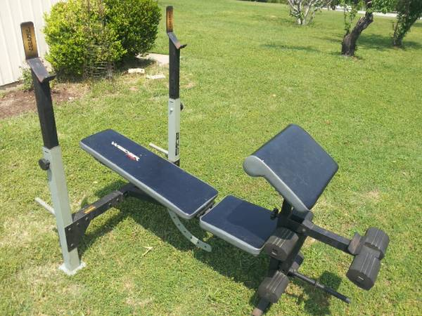 Weider Pro 235 Power Catch Weight Bench - $100 (tyler)