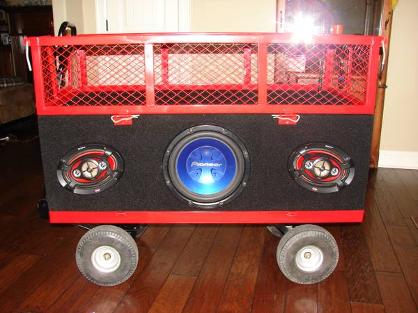 Ballpark Wagon Boom-box - $700 (Haughton, LA)
