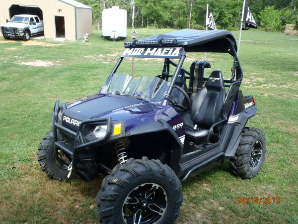 2010 RZR S Purple Thunder LE - $10000 (Nacogdoches)