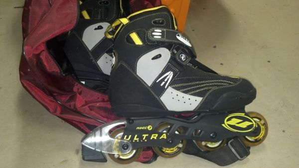 Reduced - Ultra Wheels Biofit SQ4 In-line skates - $40 (Bullard)